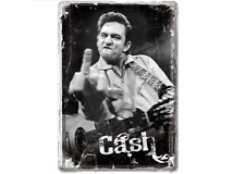 Metal Sign 10169-CASH FINGER - 10 x 14 CM-NEW
