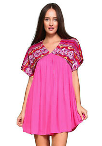 Velzera Santa Fe Baby Doll Bohemian Mini Dress NWT size 3X