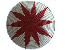 "African Rwanda Baskets| Handmade Basket | Fair Trade 12"" x 3"""