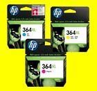 originale HP 364XL ciano CB323EE magenta CB324EE giallo CB325EE Deskjet 3070A