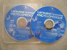 44886//LAROUSSE MULTIMEDIA ENCYCLOPEDIQUE 2003 EN TBE 2 CD