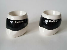 TOP GEAR STIG HELMET Shaped Pair Of Egg Cups 2005 Official BBC Product EXCELLENT