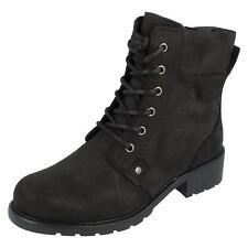 Ladies Clarks Ankle Boots 'Orinoco Spice'