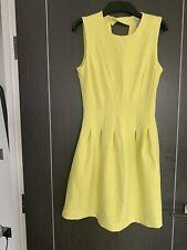Bright Yellow Dress H&m 10