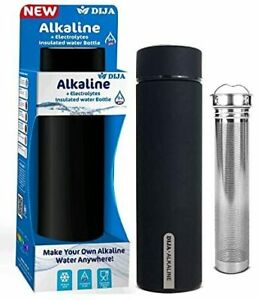 DIJA Alkaline and Electrolytes Insulated Water Bottle