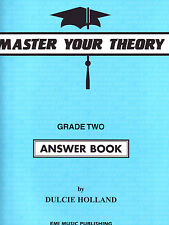 Master Your Theory Grade 2 / Two - ANSWER BOOK (Revised Edition) *BRAND NEW*