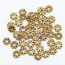 Lots 1000pcs Tibetan Silver Daisy Flower Spacer Beads Jewelry Findings 4mm