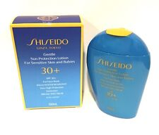Shiseido Gentle Sun Protection Lotion For Sensitive Skin and Babies SPF30 100ml.