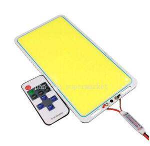 70W Flip LED COB Chip panel Light 12V DC Fishing Rod Lamp Cold White for Outdoor