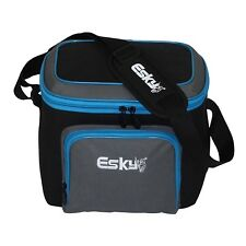 Esky Handy Small 9 Can Capacity Zip Tops Storage Pockets Adjustable Soft Cooler