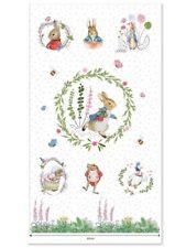 Peter Rabbit - Nursery Panel Cream 110 x 60cm approx. - Cotton Fabric Quilting C