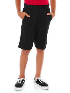 George Boys School Uniforms Flat Front Shorts Size 7, 8, 14