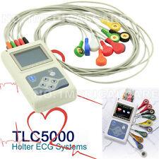 12 canali Holter ECG / ECG 24 Ore registratore / Analyzer + Software, TLC5000