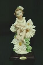 Giuseppe Armani Figurine Babette Mother'S Day Daisy Girl #1328C New Condition