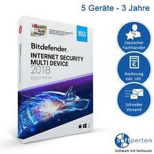 Bitdefender Internet Security 2018, 5 Geräte - 3 Jahre, Deutsch, ESD, Download