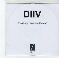 (DJ781) DIIV, How Long Have You Known - DJ CD