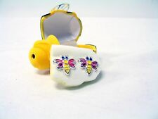 Bumble Bee Earrings with Cute Bumble Bee Case