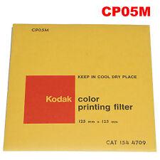 Kodak color printing filter 12,5 x 12,5 cm CP05M CAT. 154 4709.