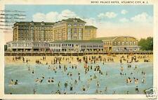 Royal Palace Hotel, Atlantic City, N.J. 1927 postcard