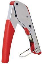 Mercury 120.917 herramienta de cableado coaxial Snap sello De Bolsillo Prensar Alicates Tipo F Nuevo