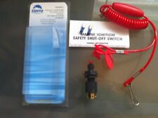 Sierra Boat Kill Switch & Lanyard for Johnson OMC Mercury Mercruiser Yamaha