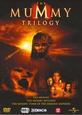 THE MUMMY TRILOGY TRILOGIE : 3 DVD BOX SET - SEALED GRATIS VERZENDING