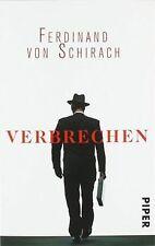 Verbrechen: Stories von Schirach,  Ferdinand von | Buch | Zustand gut