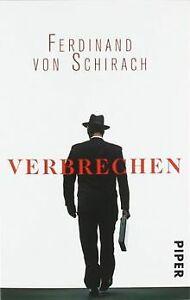 Verbrechen: Stories von Schirach, Ferdinand von   Buch   Zustand gut