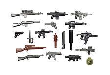 BrickArms Zombie Defense Pack 2018, 19 Teile, Custom Waffen für LEGO® Figuren