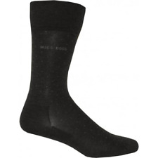 HUGO BOSS George Mercerized Cotton Dot Socks UK Size 8.5-9.5 (EU 43-44) **NEW**