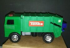 "2008 Tonka 7"" Hasbro Toughest Minis Lights Sound Garbage Truck #05854"