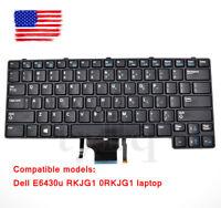 E6430u RKJG1 0RKJG1 laptop black keyboard For Dell  Pointer backlit