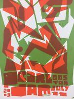 Pearl Jam - 2003 Ames Design Poster Boston, MA Fleet Center
