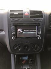VW GOLF MK5 JETTA DASH VENT & STEREO TRIM CARBON WRAPPED 1.4 1.6 1.9 2.0 GTI TDI