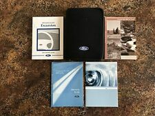 2004 Ford Excursion Owners Manual (Gas) w/ Case & Supplements - #L - #M