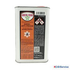 Green Star Diesel Additivo Diesel Anti-Freeze 1lt Antigelo Gasolio Professionale