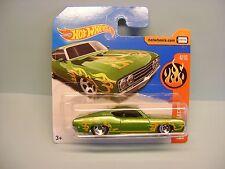 Diecast Hot Wheels HW Flames '69 Ford Torino Talladega on Blister