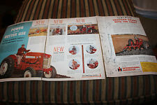 Vintage 1957 International Harvester Tractor Ad Power Line McCormick Farmall