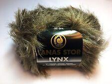 10 Stk. Lanas Stop LYNX Farbe 721 Luxuswolle 10x50 Gramm Garn Wolle