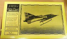 1/48 Collect Aire XF2Y-1 YF2Y-1 Sea Dart - Complete, Many Damaged Parts Pls Read