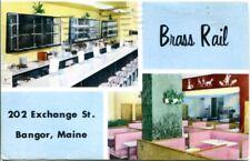 uralte AK, Brass Rail, 202 Exchance St. Bangor, Maine