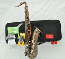 Professional TAISHAN Red antique Tenor Saxophone Sax with High F# with case