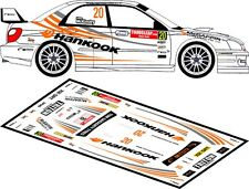 DECALS 1/43 SUBARU IMPREZA WRC - #20 - McKINSTRY - RALLYE ULSTER 2008 - D43148