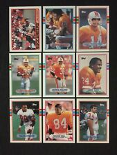 1989 Topps Tampa Bay Buccaneers Complete Team Set!
