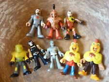 8 Action Figure Toy Figurines Characters Figures Lot