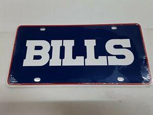 Buffalo Bills NFL Blue Background Metal License Plate