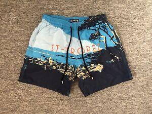 Vilebrequin #11040 Men's Size XL Multicolor Mesh Lined St-Tropez Swim Trunks