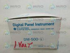 DATEL DM-500-1 PANEL METER *NEW IN BOX*