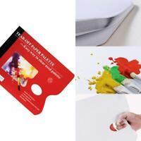 A3 Disposable Paper Palette Tear Off For Watercolor/Gouache/Acrylic/Oil Pai S0V9