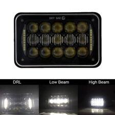 4x6 inch Rectangular 5D LED Headlights DRL for Kenworth T800 T400 T600 Peterbilt